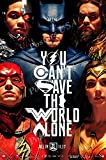 "Posters USA - DC Justice League Movie Poster GLOSSY FINISH - FIL612 (24"" x 36"" (61cm x 91.5cm))"