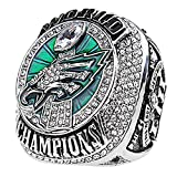 Super Bowl 52th Philadelphia Eagles 2017-2018 MVP Wentz 11# Championship Replica Ring Size 8~14 (11)