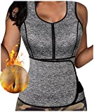 Product review for Gotoly Neoprene Sauna Sweat Tank Top Vest with Adjustable Waist Trimmer Belt