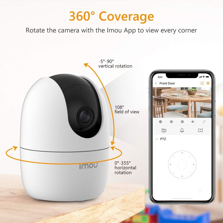 Imou Ranger 2 IP Camera 360 Degree Coverage