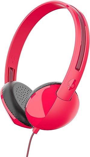 Skullcandy Stim On-Ear Wired Headphones (Red)