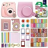 FujiFilm Instax Mini 8 Camera Pink + 40 Instax Film + Accessories KIT for FujiFilm Instax Mini 8 Includes: Case Frames + 64 Page Photo Album + Selfie Lens + Colored Filters + More