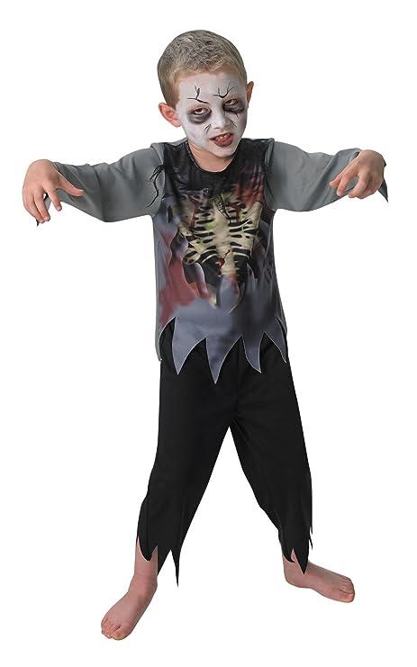 Rubies Costume Zombie Boy Ufficiale Per Bambini Medio Multicolore