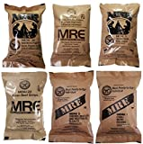 ULTIMATE MRE, Pack Date Printed on Every Meal - Meal-Ready-To-Eat. Inspected Certified by Western Frontier. Genuine Mil Surplus. (6-Pack)