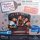 Thailand Mobile Phone Tourist NANO SIM. 7 Days Unlimited 3G Internet. Prepaid. Credit preloaded. Works on arrival.