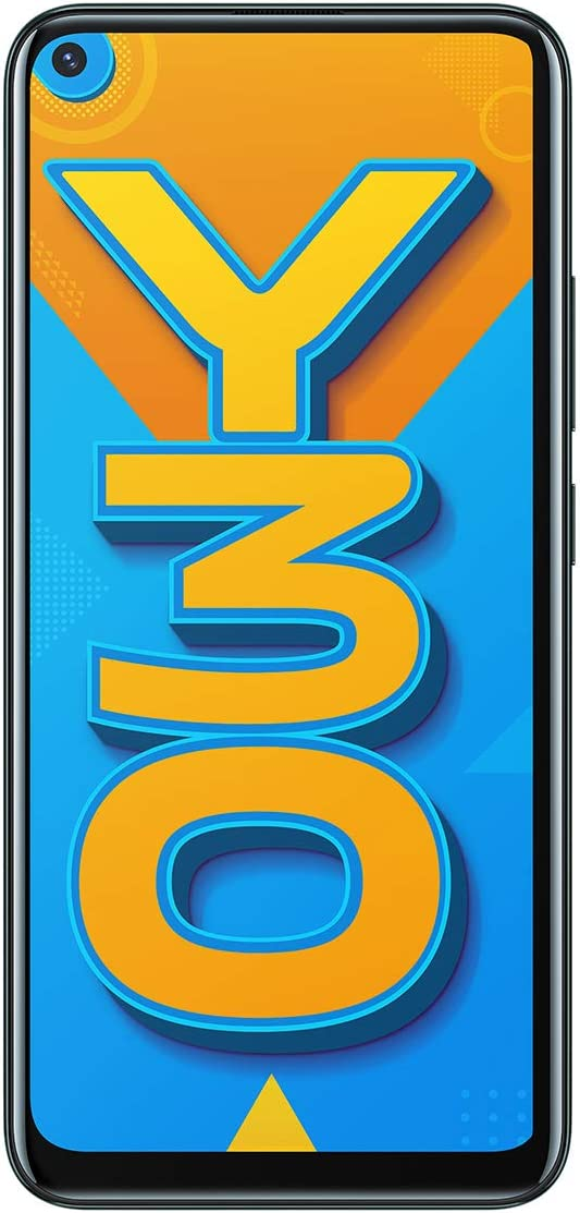 Vivo Y30 (Emerald Black, 4GB RAM, 128GB Storage) with No Cost EMI/Additional Exchange Offers