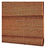 LIANGJUN Bamboo Curtain Roller Blind Weave Cut Off Cover Light Smooth Roller Blinds Dust-Proof Living Room Balcony, 3 Sizes (Color : B, Size : 90X180CM)
