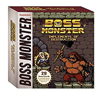 Image result for Boss Monster: Implements of Destruction  board game