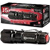 J5 Tactical Hyper V Ultra Bright Tactical Flashlight - Black