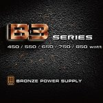 EVGA 550 B3, 80+ BRONZE 550W, Fully Modular, EVGA ECO Mode, 5 Year Warranty, Compact 150mm Size, Power Supply 220-B3…