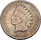 1902 INDIAN Head Cent United States of America Antique USA Coin Liberty i43924