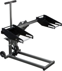 best hydraulic mower lift - High Lift Jack 300-Pound for Tractor Riding Mower ATV Quads