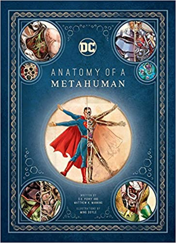DC Comics: Anatomy of a Metahuman Book SDCC