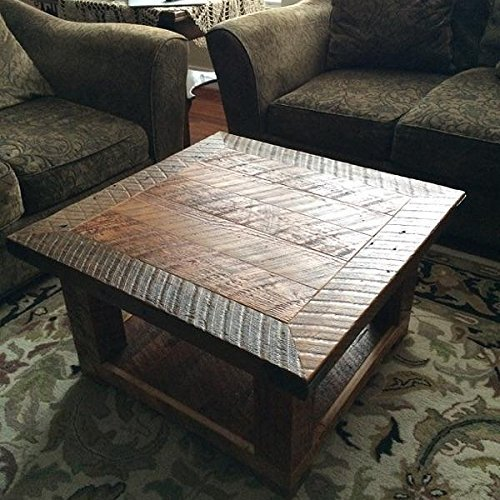 The Old Seattle Square  Reclaimed Wood Coffee Table   Handcrafted Furniture. The Old Seattle Square  Reclaimed Wood Coffee Table   Handcrafted