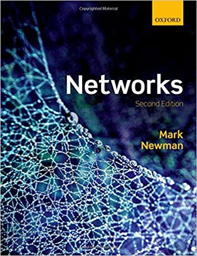 book cover of Networks by Mark Newman