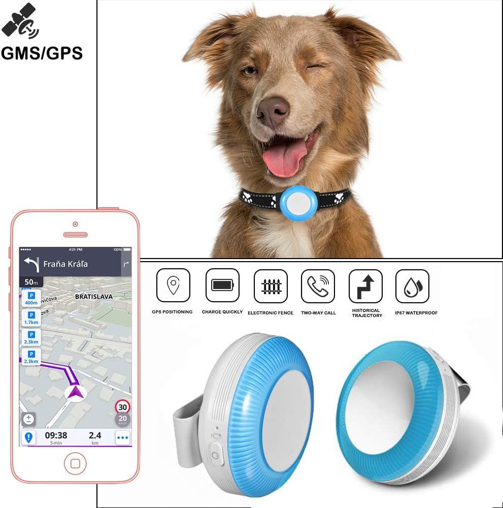TKMARS Rastreador GPS para Toddler Dog Cat TK925 Rastreador GPS Localice para Niños Pequeños, Localizador con Aplicación Gratuita (TK925)
