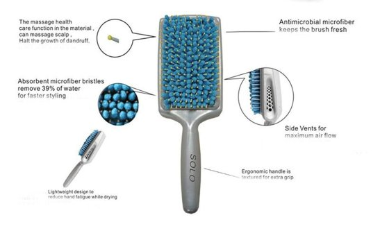 Image result for quickstyle quickdrying ,microfiber comb