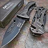 Pocket Knife Mtech Ballistic 8' Bottle Opener Rescue Blade