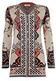 Product review for IVKO Long Sweater Jacket, Morocco Pattern, Marine