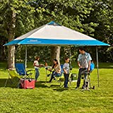 Coleman 13' x 13' Instant Eaved Shelter Pop Up Canopy Gazebo Tent...