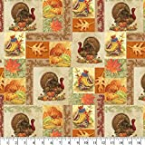 Bountiful Thanksgiving Cotton Fabric by The Yard