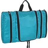 eBags Pack-it-Flat Hanging Toiletry Kit for Travel - (Aquamarine)