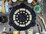 Wheel of the Year // Norse runes // Vegvisir // Wiccan altar // Pagan Altar // Solstice Calendar