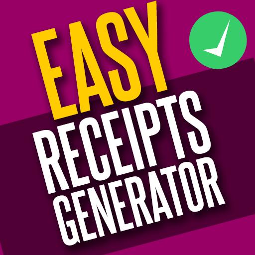 Easy Receipts Generator, Receipt & Invoice Maker