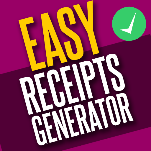 Easy Receipts Generator, Receipt & Invoice Maker