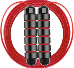 Best Jump rope workout for abs-Workout Jump Rope Adjustable Tangle