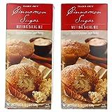 Trader Joe's Cinnamon Sugar Muffin & Baking Mix - Includes Cinnamon Sugar Topping 19 oz (2 PACK)