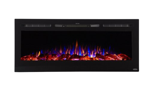 Touchstone Sideline Recessed Mounted Electric Fireplaces (50 Inches)Black Friday Deals