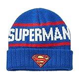 Men's DC Comics Superman Knit Cap  One Size Fits Most Blue  Multi One size fits most