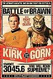 LLP Star Trek Poster - Captain Kirk vs The Reptilian Gorn (24'x36')