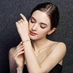 A Girl wearing Evil Eyes Tennis Bracelet