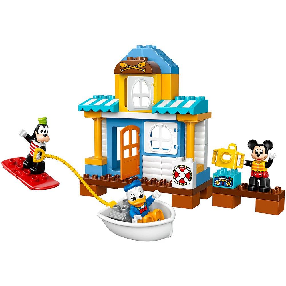 LEGO DUPLO Disney Junior Mickey & Friends Beach House, Preschool,