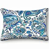 best bags Paisley Based On Traditional Home Decor Wedding Gift Engagement Present Housewarming Gift Cushion Cover 20X30 Inch