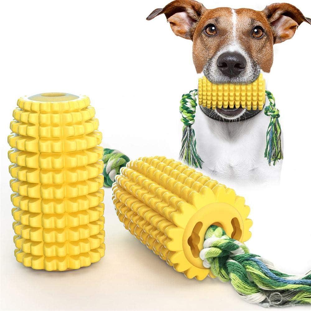 Cepillo de dientes para perros, juguete de maíz
