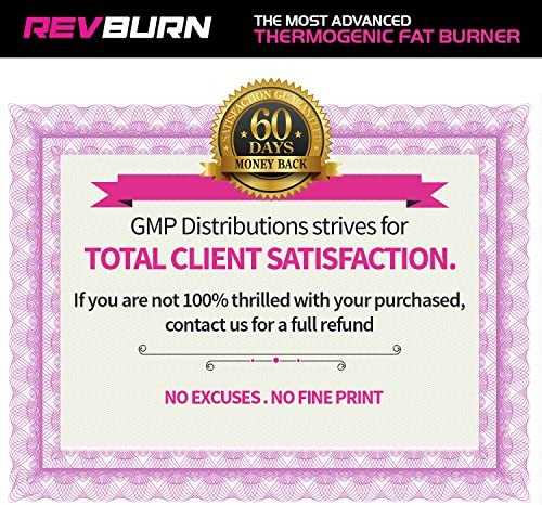 Rev Labs | Rev Burn | Thermogenic Fat Burner | The #1 Ground Breaking Fat Burning Amplifier Diet Pill for Men and Women, Carb Blocker & Appetite Suppressant, Weight Loss Pills, 60 Cap 6