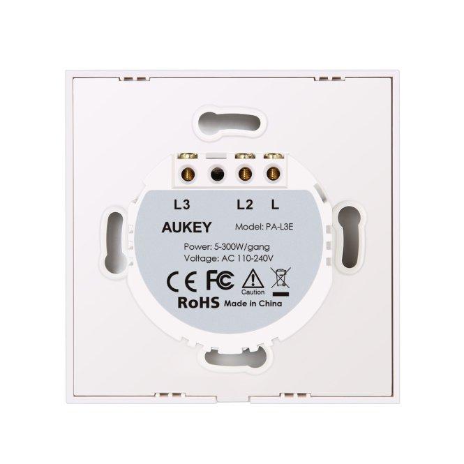 Montage - Aukey PA-L3E Touch Panel Schalter