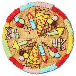 Millie's Cookies Giant Party Slices 1 Round (Double Choc, Single) 618ff1eX5KL