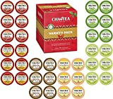 Cha4TEA 36-Count K Cups Variety Tea Sampler Pack for Keurig K-Cup Brewers, Multiple Flavors (Green Tea, Black Tea, Jasmine, Earl Grey, Oolong Green Tea, English Breakfast)