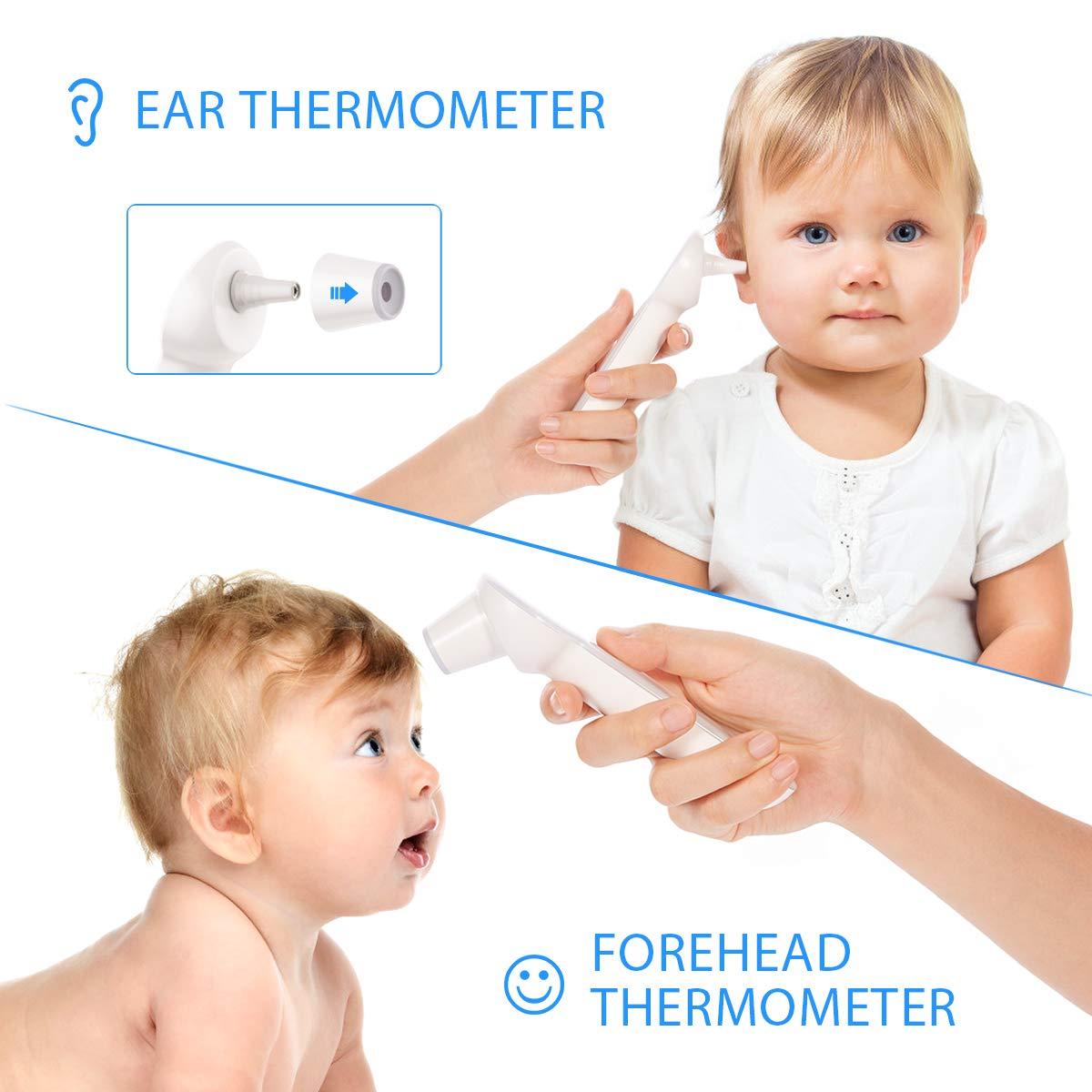 termómetro infrarojo para recién nacidos