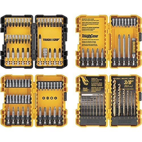 DEWALT 100-piece Combination Impact Screwdriver Bit and Drill Set