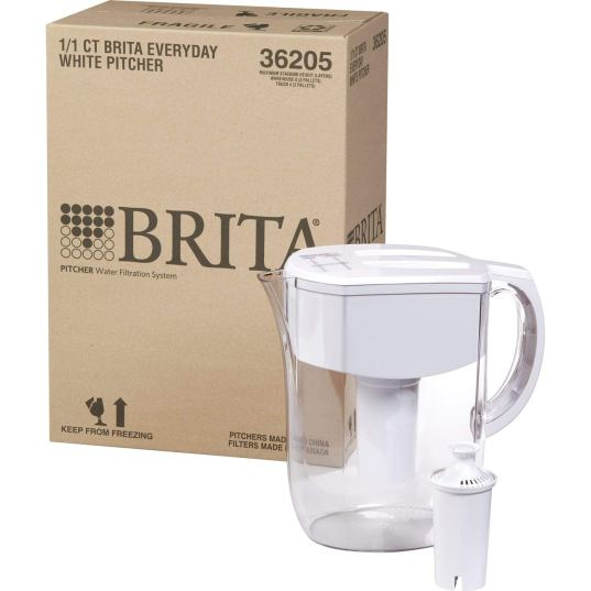 Brita 10060258362050 Large 10 Cup Everyday Water Pitcher with Filter review