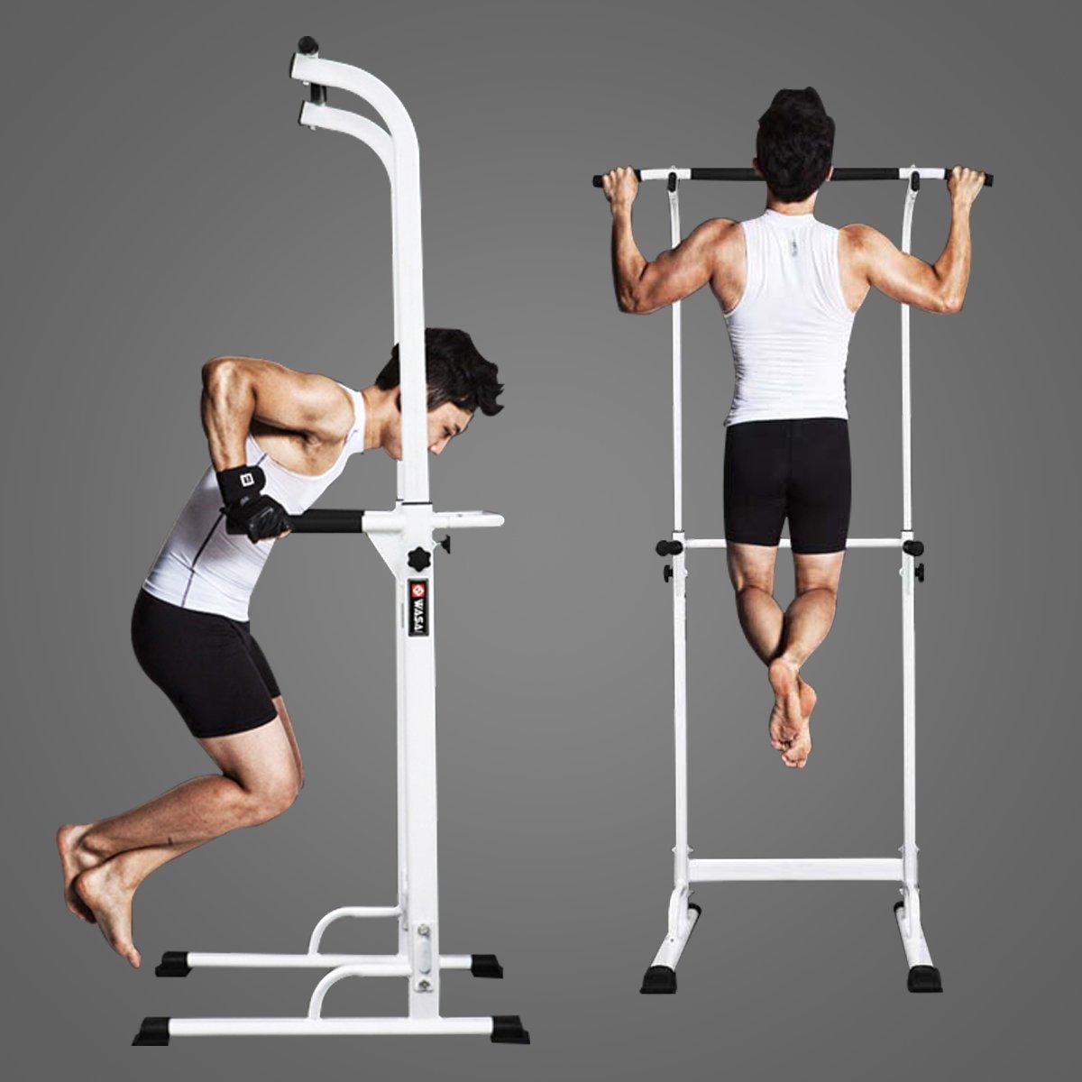 WASAI(ワサイ)ぶら下がり健康器 懸垂マシン 背筋運動 30W 筋肉伸ばし