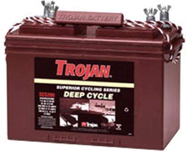 Trojan SCS200 12V 115Ah Group 27 Superior Deep Cycle Battery FAST USA SHIP