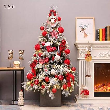 Jjsp 1 5 M Encryption Luxury Christmas Tree Christmas Dress Scene Layout Shopping Mall Window Decoration Amazon Co Uk Kitchen Home
