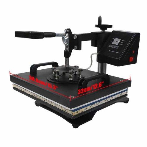 TC-Home Heat Press 8 in 1 Multifunction Sublimation Heat Press Machine