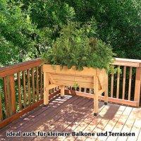 Vegtrug Hochbeet Holz® 100 x 78 x 80 cm,1 Stück von Takasho